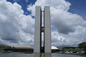 Brasília National Congress, photo by Ben Tavener