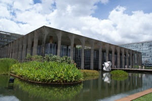 Palácio do Itamaraty - Brazil's Foreign Office, Brasília, Dec 2011 - photo by Ben Tavener
