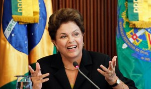 President Rousseff drops 8 points in a Datafolha opinion poll of over 3,750 Brazilians.