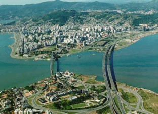 Florianópolis from the air