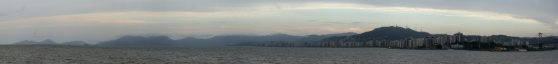 Florianópolis Panorama, photo by Ben Tavener
