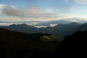 View from Yanacocha, photo by Ben Tavener