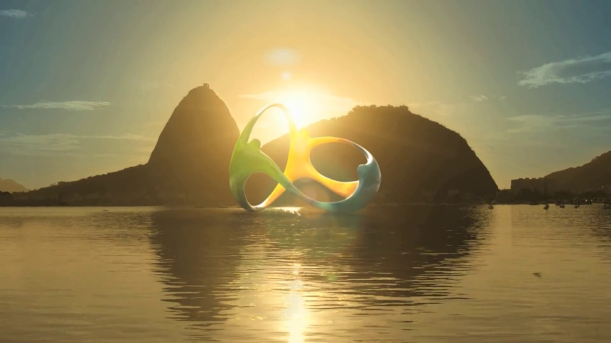 Olympic Rio. Photo by Logopedia