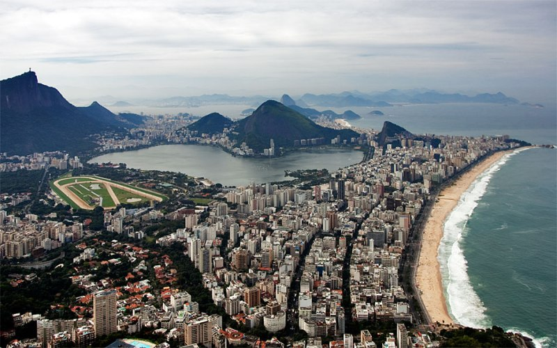 Leblon is most expensive place for real estate in Rio, photo by Alexander Shafir (www.shafir.info)