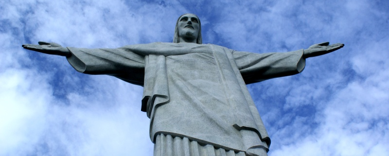 Christ the Redeemer (Cristo Redentor) statue in Rio. Photo by Ben Tavener.