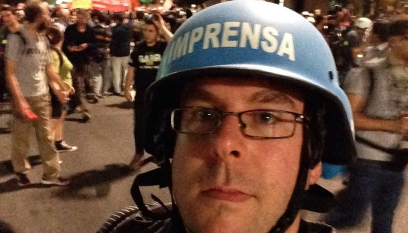 On the ground with World Cup protests in São Paulo