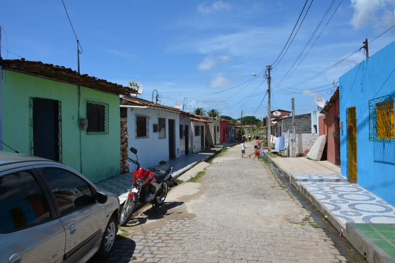 Natal's Zona Norte is far less glamorous, much poorer and local says crime is common. Photo by Ben Tavener.
