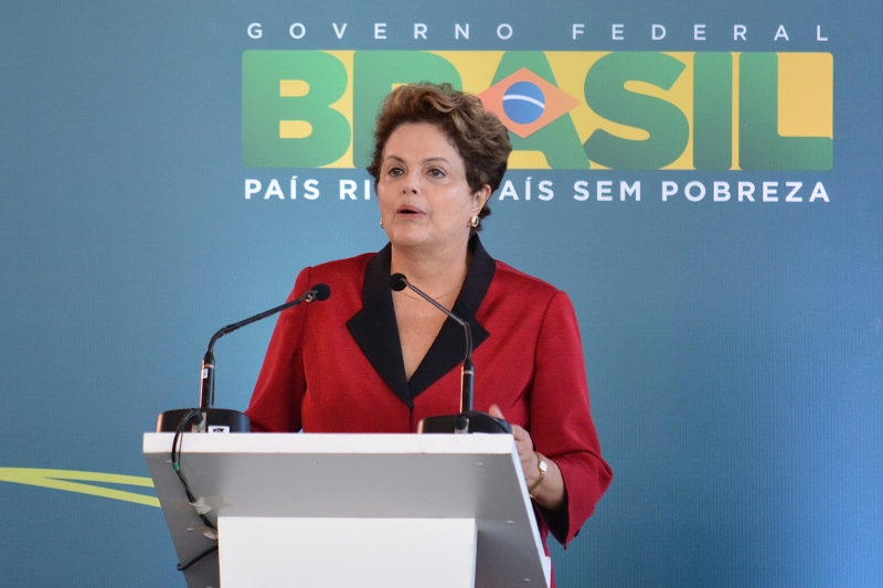 Brazilian President Dilma Rousseff opens new São Paulo's Guarulhos international airport Terminal 3. Photo by Ben Tavener