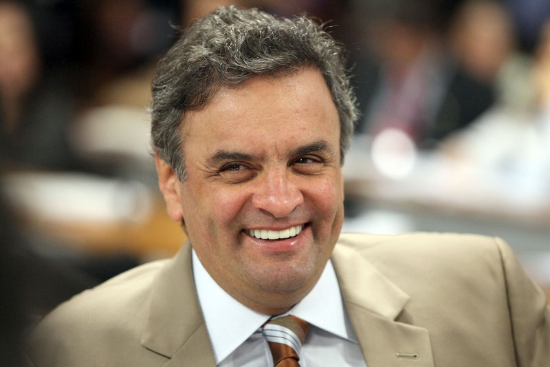 Aécio Neves. Photo by George Gianni.
