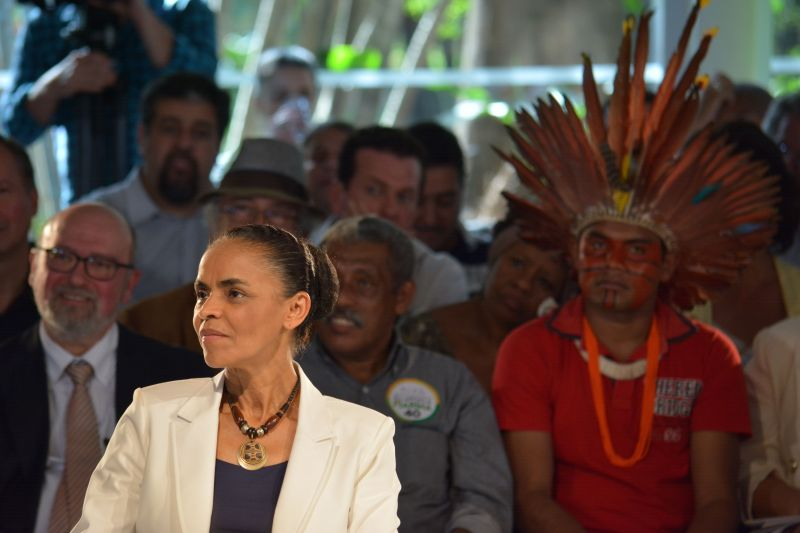 Marina Silva in São Paulo, September 2014. Photo by Ben Tavener